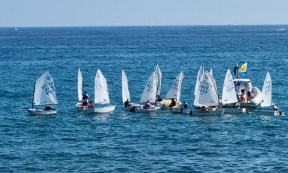 Omar Da Sacco e Virginia Negri vincono la regata Optimist del Circolo Velico Capo Verde