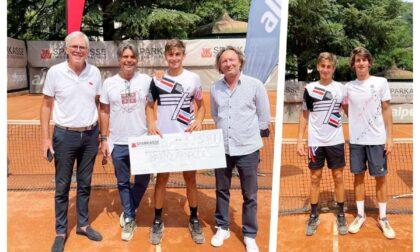 Matteo Arnaldi nuovo talento del tennis sanremese trionfa nell'Itf da 25mila dollari di Bolzano
