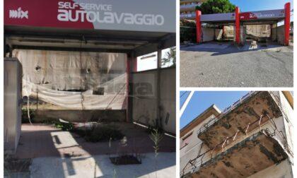 Ex autolavaggio e palazzina nel degrado a Bordighera, scattano le ordinanze del sindaco