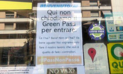 """A Imperia bar ribelle """"Non chiediamo il green pass"""""""