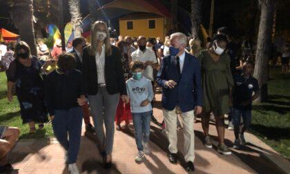 Inaugurato il parco della Rabina