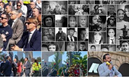 Liguria ricorda i 43 morti nel crollo di Ponte Morandi