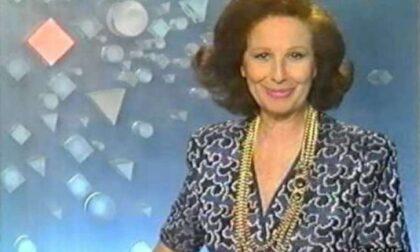 """Addio alla """"Signorina Buonasera"""" Nicoletta Orsomando"""