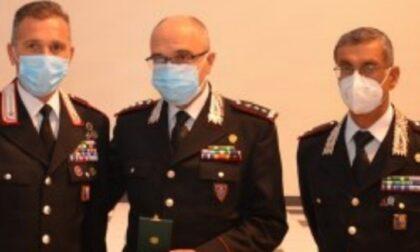 Luogotenente dei Carabinieri insignito della Medaglia Mauriziana