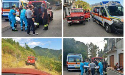 Vigili del fuoco salvano escursionista 50enne grazie al geolocalizzatore