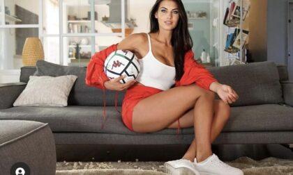 La nostra Miss Italia Carolina Stramare nuovo volto del campionato di Serie B