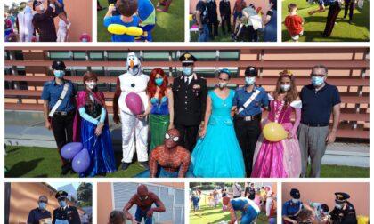 Al Palasalute di Imperia i supereroi e le principesse in corsia per i bambini disabili