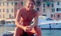 Conte in vacanza a Portofino