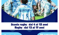 A settembre Open Day Sanremo Rugby