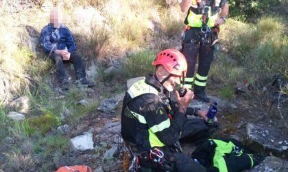Recuperato il 63enne disperso da ieri in montagna