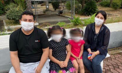 Visita di Toti, Berrino e Biancheri ai profughi afghani della Base logistica di Sanremo