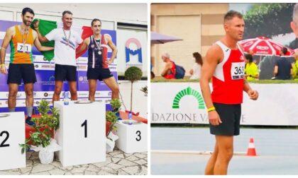 L'atleta ventimigliese Fabrizio Pertile campione italiano di salto in alto