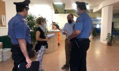 La bidella del Ruffini rientra a scuola senza green pass, stavolta intervengono i carabinieri