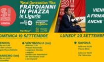 L'on. Nicola Fratoianni di Sinistra Italiana a Sanremo e Ventimiglia