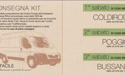 Nuovo servizio per la raccolta rifiuti di Amaie Energia a Poggio, Coldirodi e Bussana