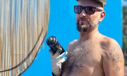 Lo street artist Mr.Fijodor firma il billboard di Area Sanremo