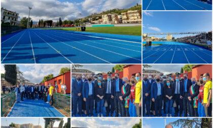 """Inaugurato il nuovo stadio """"A. Lagorio"""" di atletica"""
