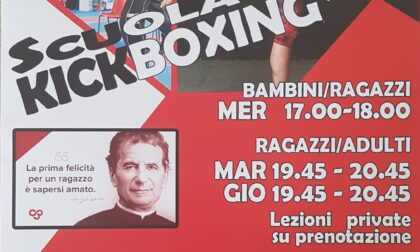 Ai salesiani di Vallecrosia sono iniziati i corsi di kick boxing