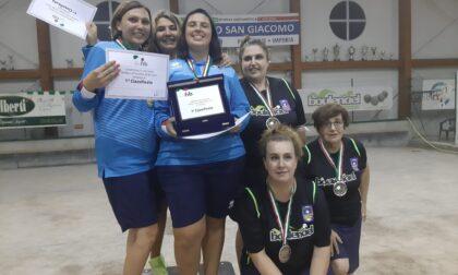 Petanque: le ventimigliesi si laureano campionesse italiane