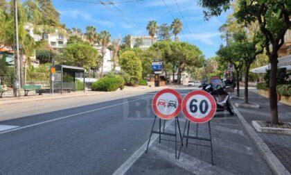 Curiosità: in centro a Ospedaletti il limite di velocità diventa di 60 km/h