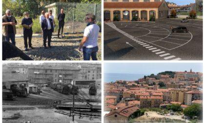 A Ventimiglia sono iniziati i lavori del parcheggio Eiffel in zona stazione