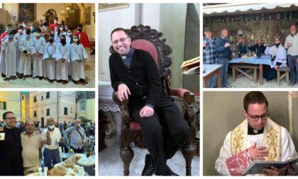 La parrocchia di San Sebastiano a Coldirodi festeggia il compleanno di don Filippo