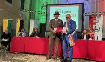 Consegna del premio Riva Ligure nelle celebrazioni per San Maurizio