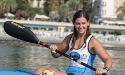 Amanda Embriaco in finale ai mondiali di paracanoa di Copenhagen