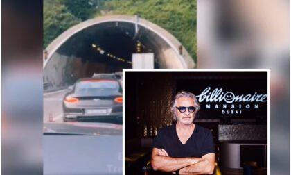 """Flavio Briatore: """"Le autostrade fanno schifo, non ho visto un operaio in 200 km. E' una presa per il c..."""""""