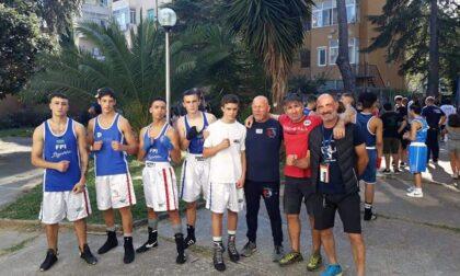 Sanremo Boxe in trasferta in Toscana