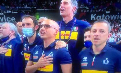 Un imperiese nella nazionale di volley campione d'Europa