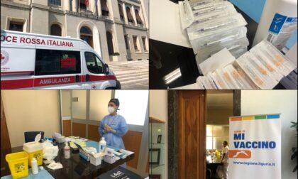 Imperia, open day vaccinale per i dipendenti, il bilancio