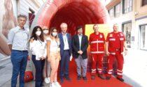 In via Escoffier il gazebo sulla prevenzione del tumore al colon