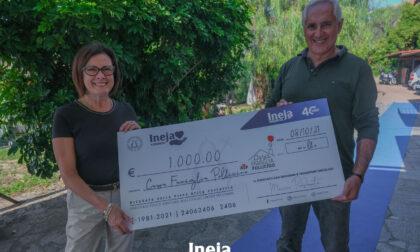 Ineja sostiene la Casa Famiglia Pollicino con la pesca di beneficenza