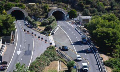 Resta chiuso lo svincolo autostradale Imperia Est