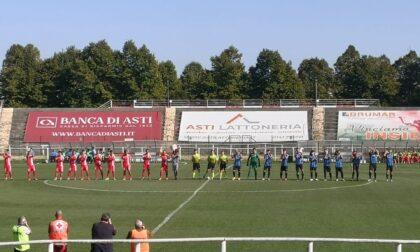 Finisce con un pareggio il match Asti-Imperia
