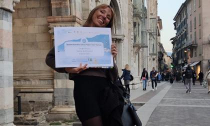 Giorgia Brusco trionfa a Como con il suo libro