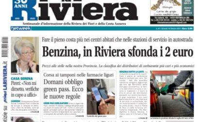 La Riviera è in edicola ecco le esclusive di questa settimana