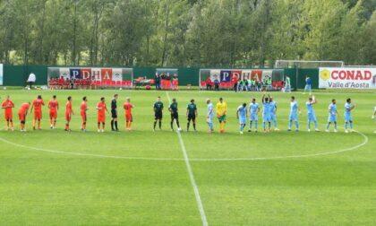 La Sanremese perde 2 a 0 contro il Pont Donnaz