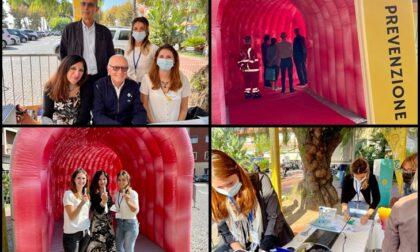 Screening contro il tumore al colon, grande partecipazione al gazebo di Ventimiglia